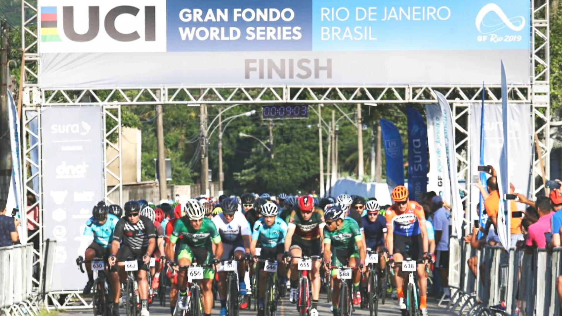 A primeira edição do Gran Fondo Rio de Janeiro foi um sucesso