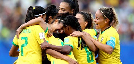 Domingão de goleadas brasileiras