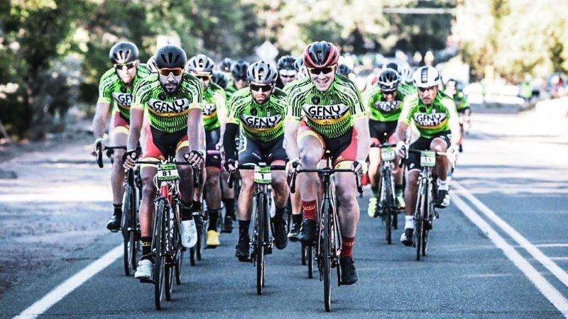 500 pedalaram na etapa de estreia do GFNY em Santa Fe