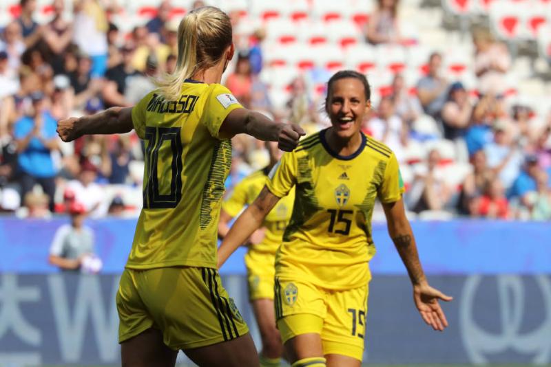 Suécia 2 x 1 Inglaterra