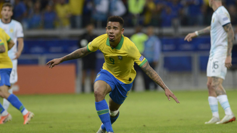 Brasil vence clássico contra a Argentina
