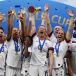 É tetra! Estados Unidos conquistam a Copa do Mundo Feminina de Futebol