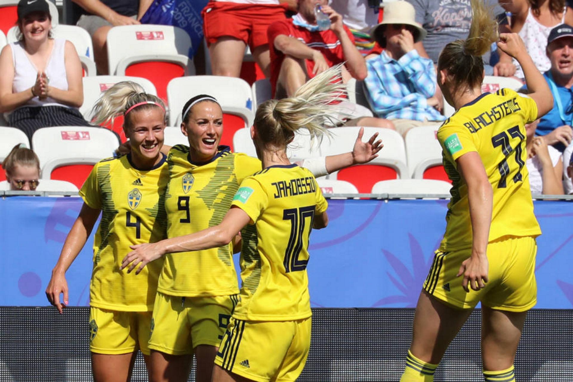 Suécia conquista o 3º lugar da Copa do Mundo Feminina de Futebol