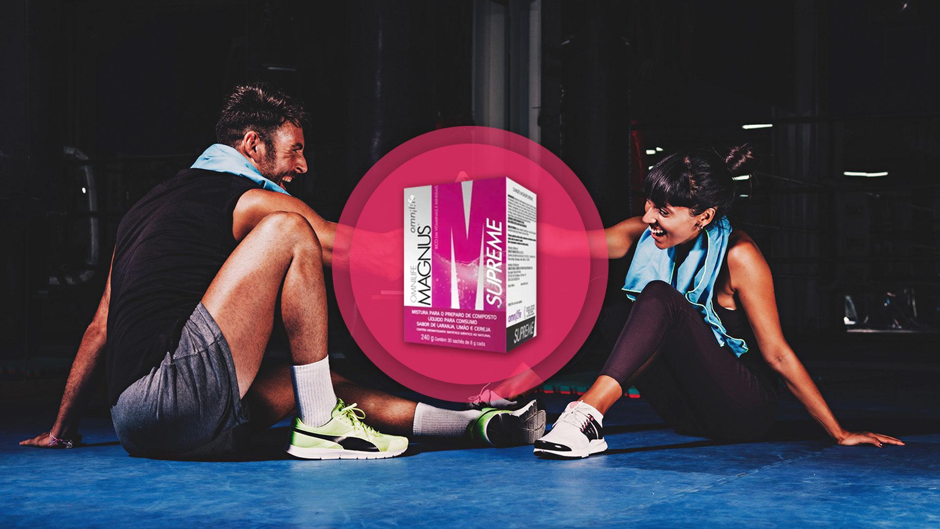 Magnus é um suplemento ideal para ter mais energia durante a prática esportiva