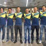 Atletas brasileiros do ciclismo chegam à Argentina