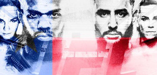 Fevereiro de combates eletrizantes no UFC