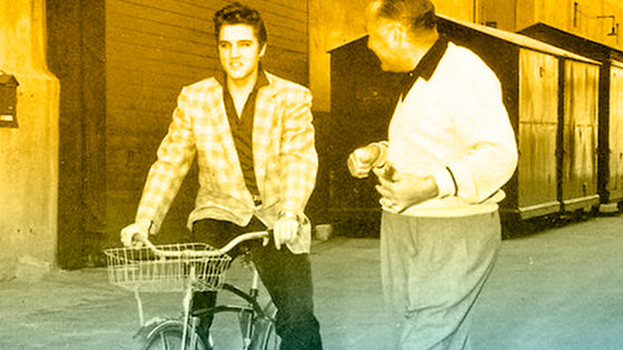 Elvis Presley queria uma bicicleta