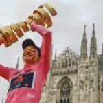Tao Geoghegan Hart é campeão do Giro d'Italia 2020