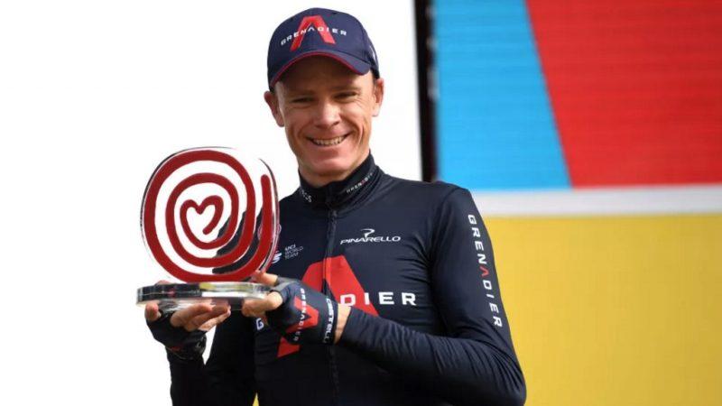 Chris Froome declarado vencedor da La Vuelta 2011