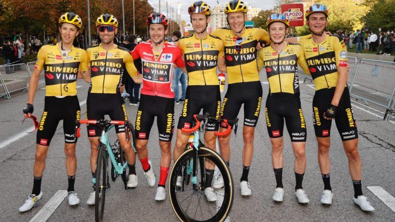 Primoz Roglic fecha 2020 na liderança do ranking UCI