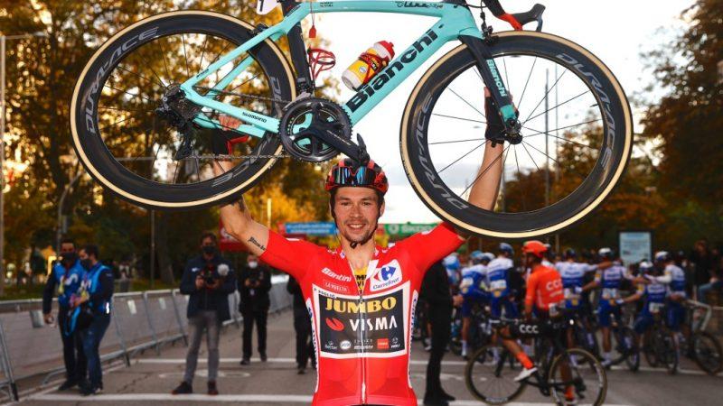 Primoz Roglic é campeão da La Vuelta 2020