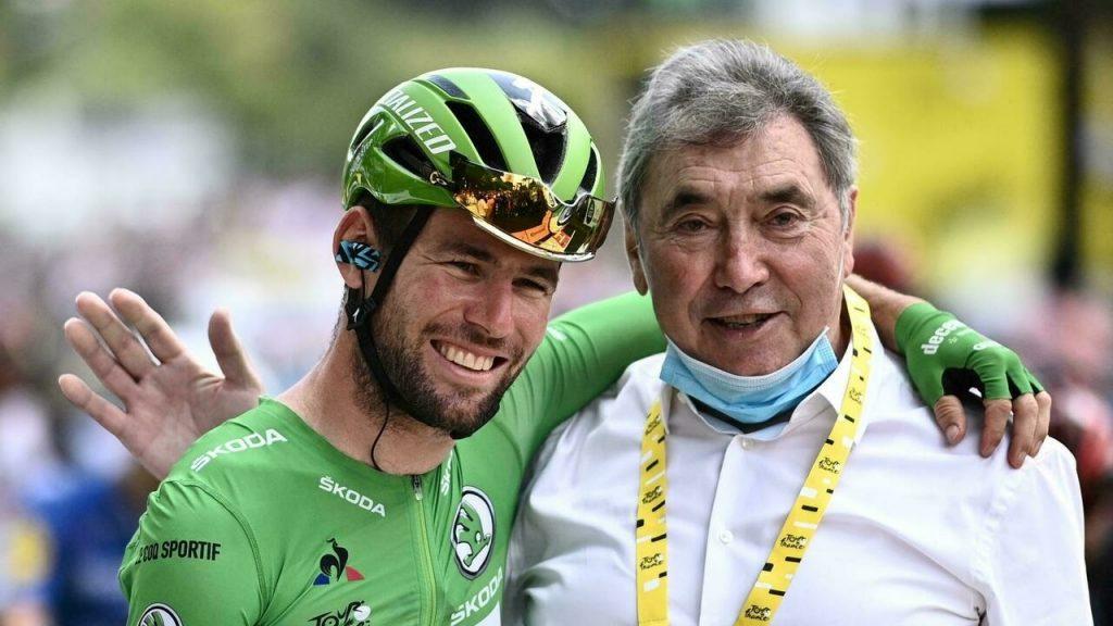 Mark Cavendish e Eddy Merckx