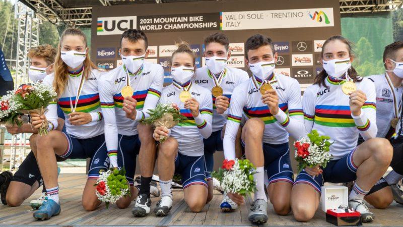 Mundial de Mountain Bike 2021 – França vence Team Relay